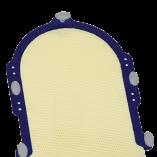 RT-1779KSDX Fibreplast_Head-Only S-Frame Mask_Extended_new pins_portrait-625